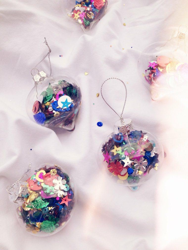 décorations de Noël boules DIY