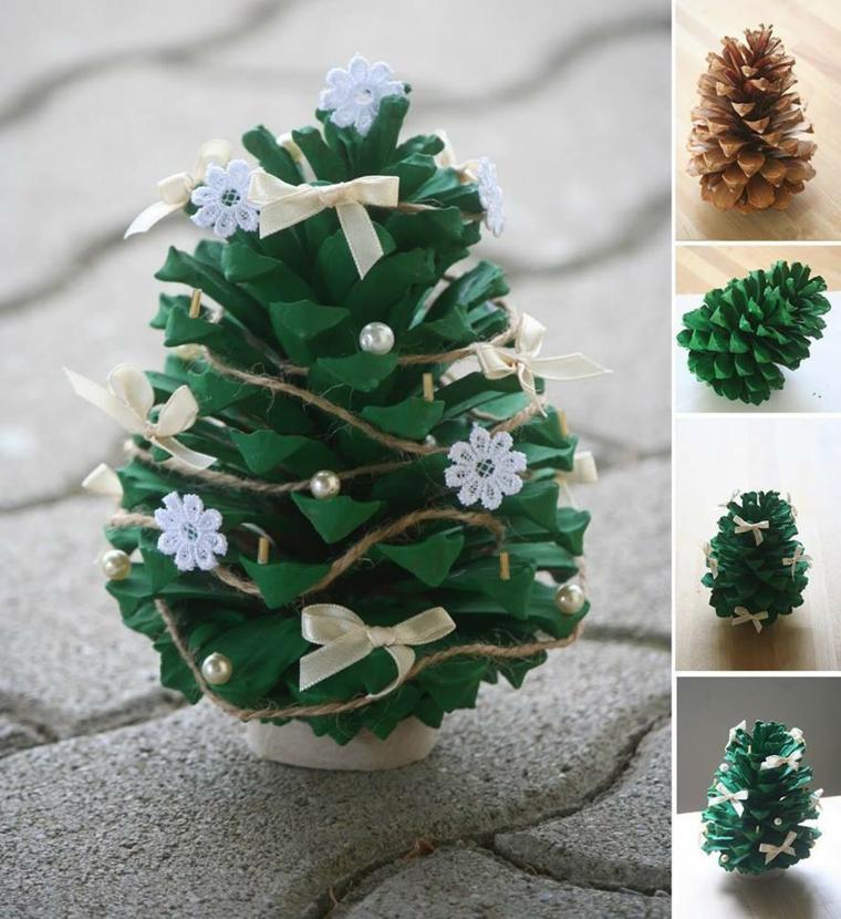 décorations de Noël pomme de pin