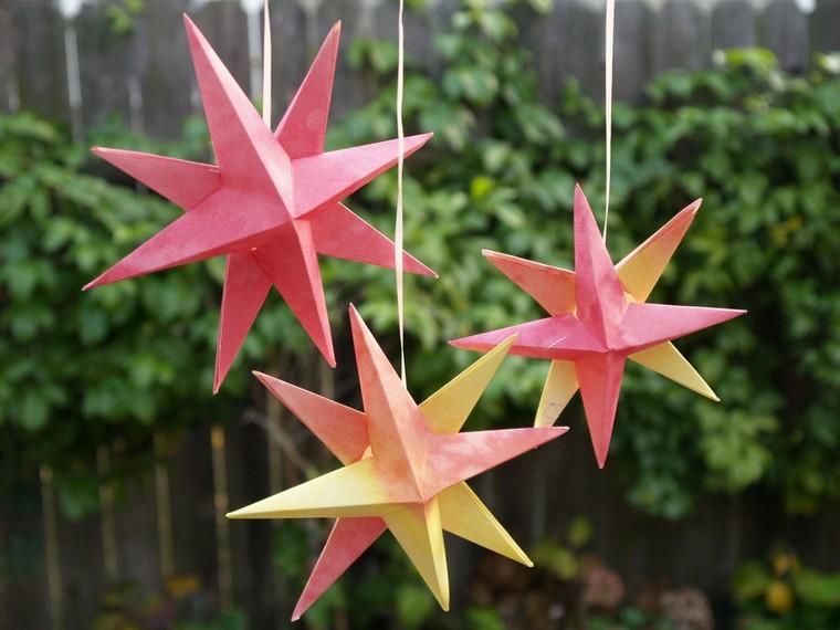 diy-deco-noel-sapin-origami-papier