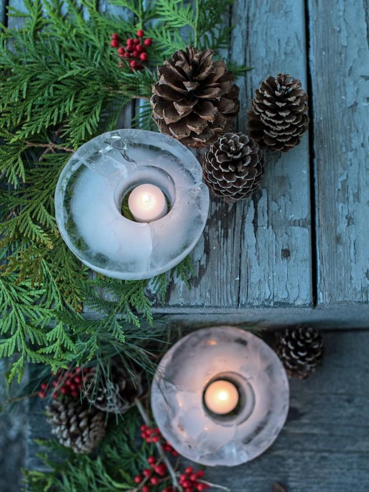 diy déco noël bougies décoration maison intérieur noel fete
