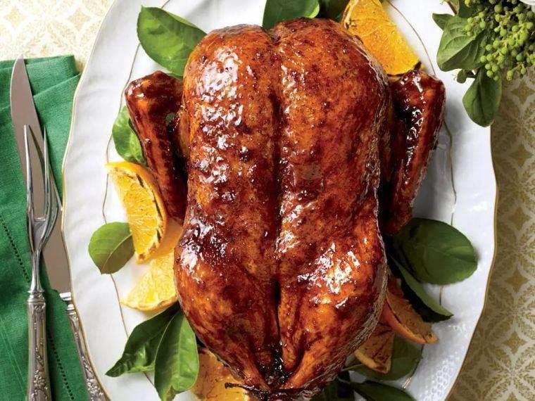 viandes de noël recette-volaille-canard-roti