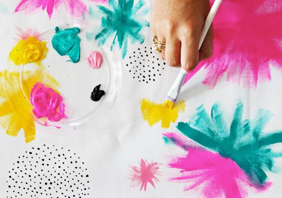 Peindre des coussins