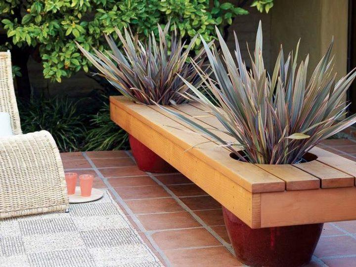 Banc de jardin pas cher DIY : quatre tutoriels en photos