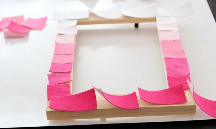 cadeau saint valentin diy cadre bois idées