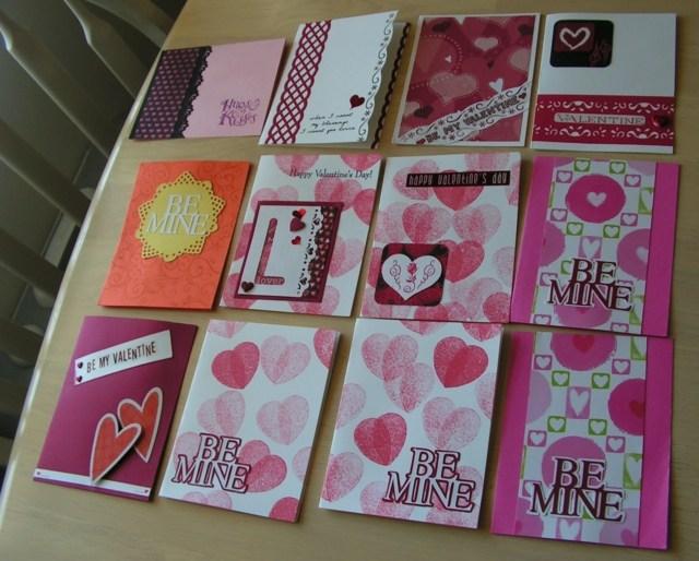 carte Saint Valentin DIY originales