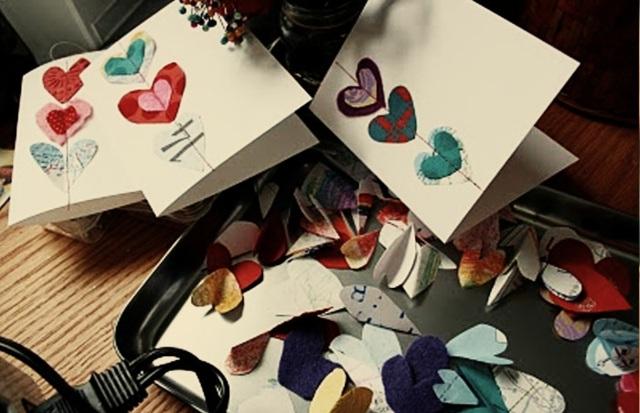 Exprimez votre amour par une carte Saint Valentin DIY