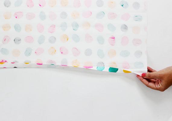deco peinture coussin à la main