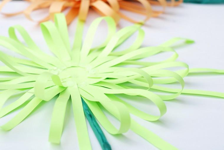saint valentin DIY fleurs en papier idées