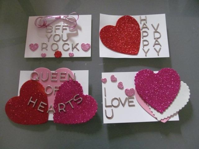 idée DIY Saint Valentin carte