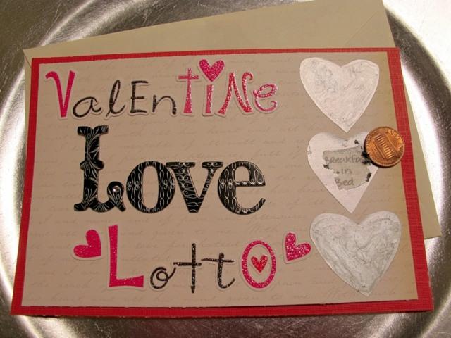 idée carte originale Saint Valentin