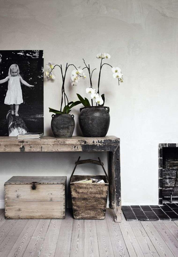 console meuble bois diy deco scandinave palette bois salon salle de séjour