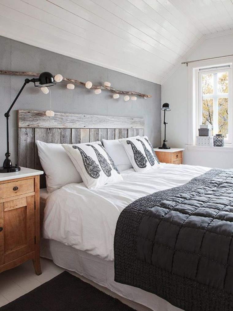 idee meuble palette tete de lit à fabriquer deco bois flotté pas cher