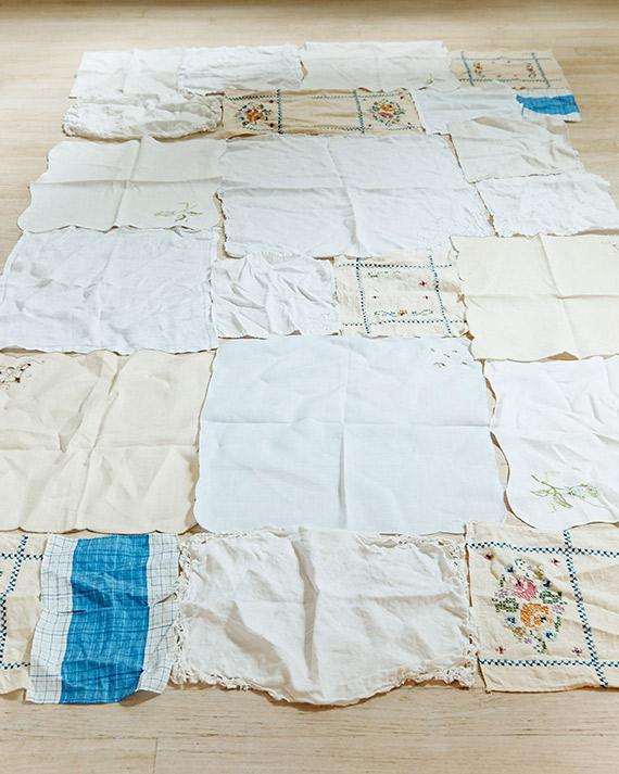 serviettes anciennes