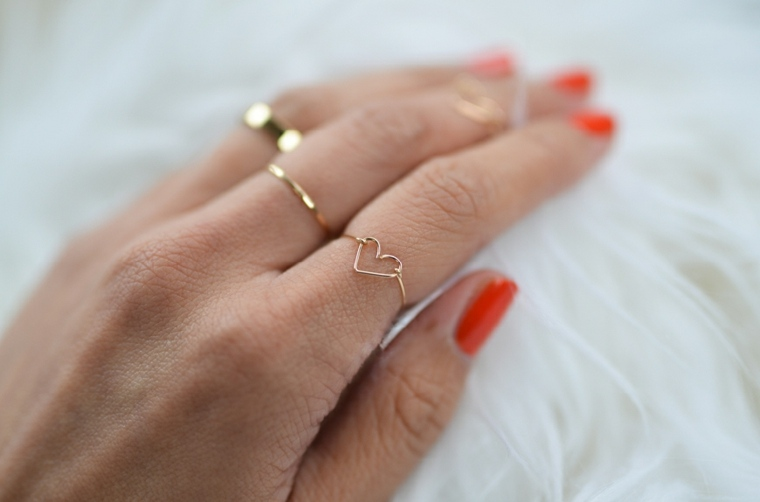 idée cadeau saint valentin bague cœur diy