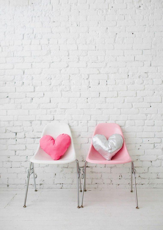 idée cadeau saint valentin 2016 coussin coeur diy brico
