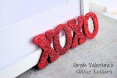 Déco DIY: Fabriquez des petits mots d'amour pour la St Valentin