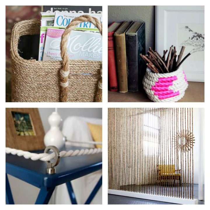 DIY déco facile : 6 projets créatifs avec de la corde