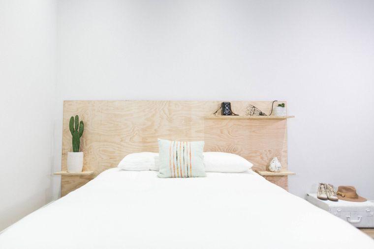 comment faire une tete de lit DIY en bois
