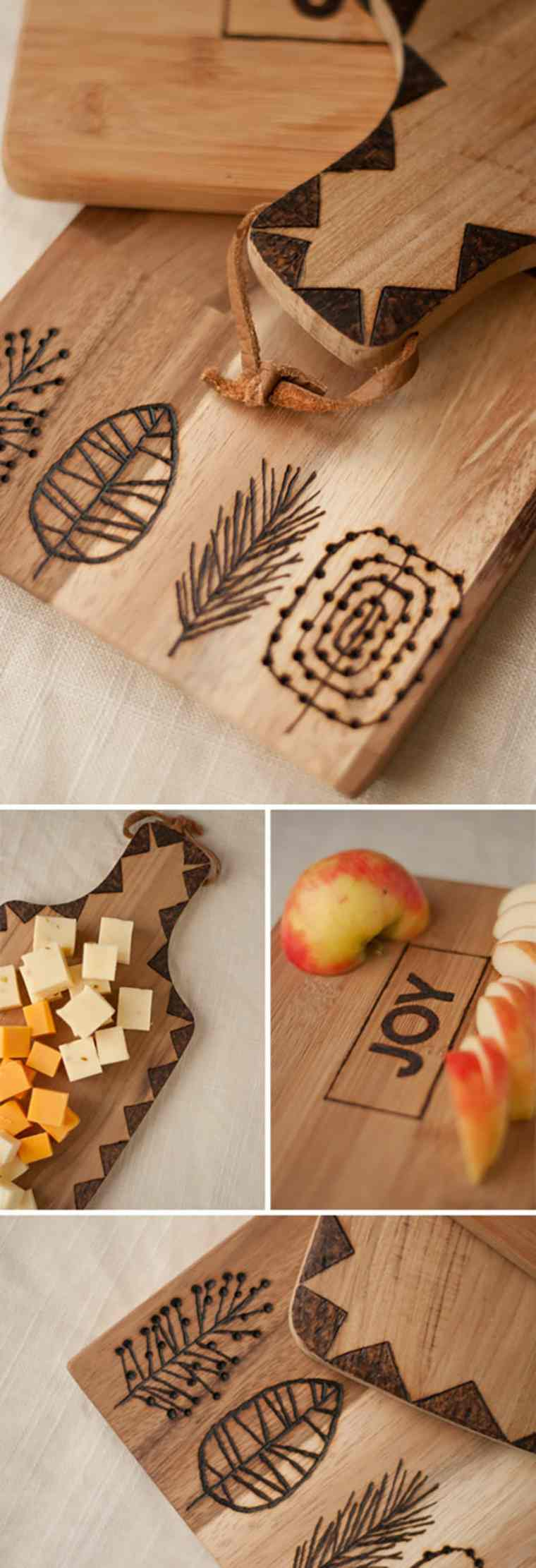 planche à découper en bois diy idée original diy