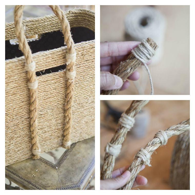 decoration et bricolage corde rangement