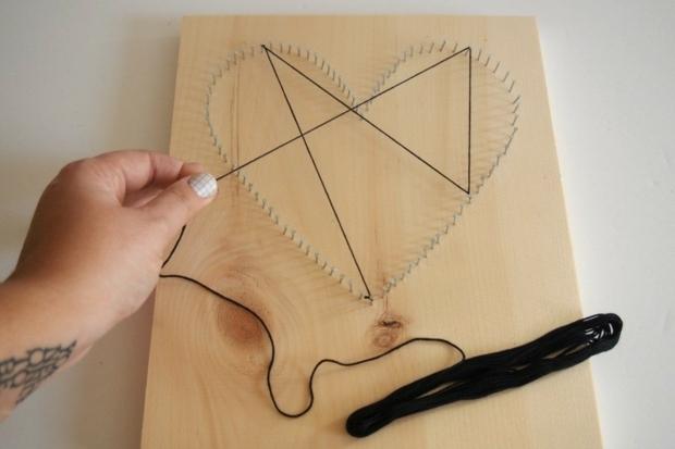 string art requiert patience et créativité