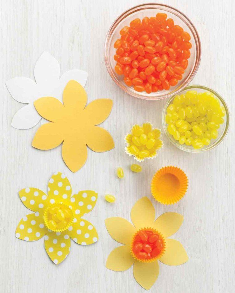 activité manuelle pour Pâque fleurs