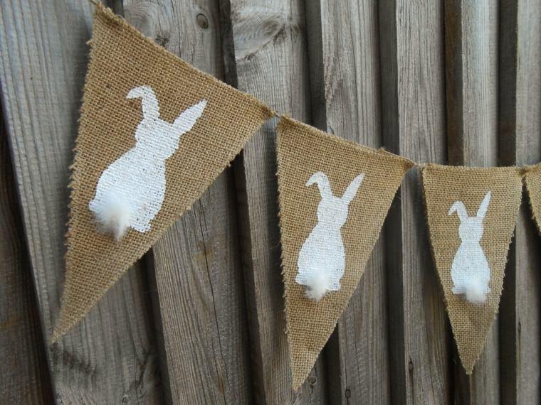 activité manuelle pour Pâques guirlande