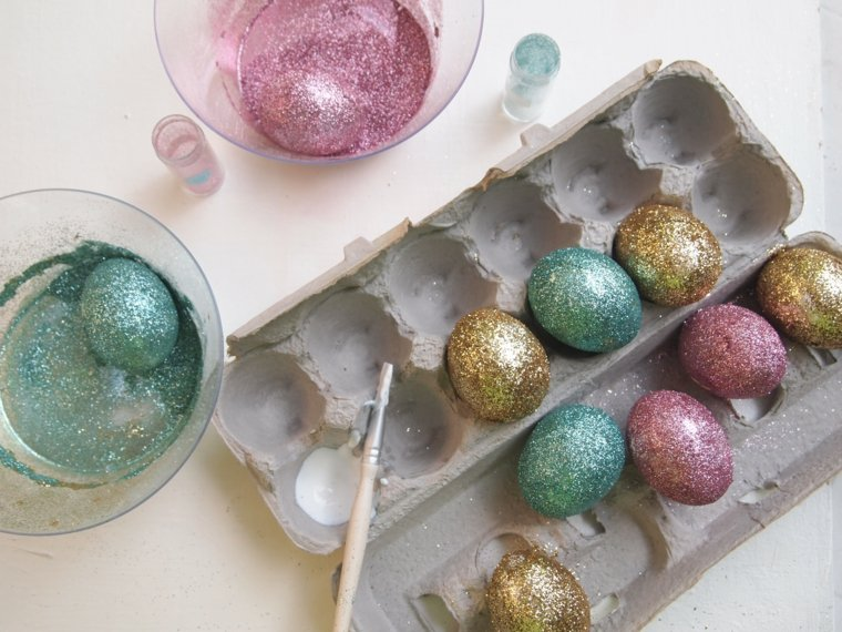 activité manuelle pour Pâques oeufs