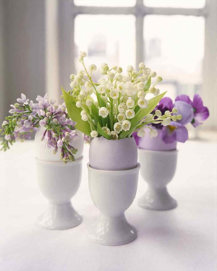 activité manuelle pour Pâques vases oeufs