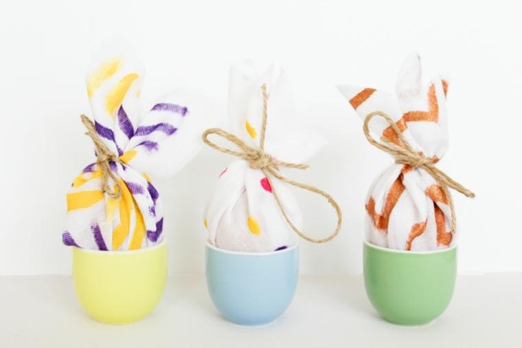 bricolage Pâques oeufs idee