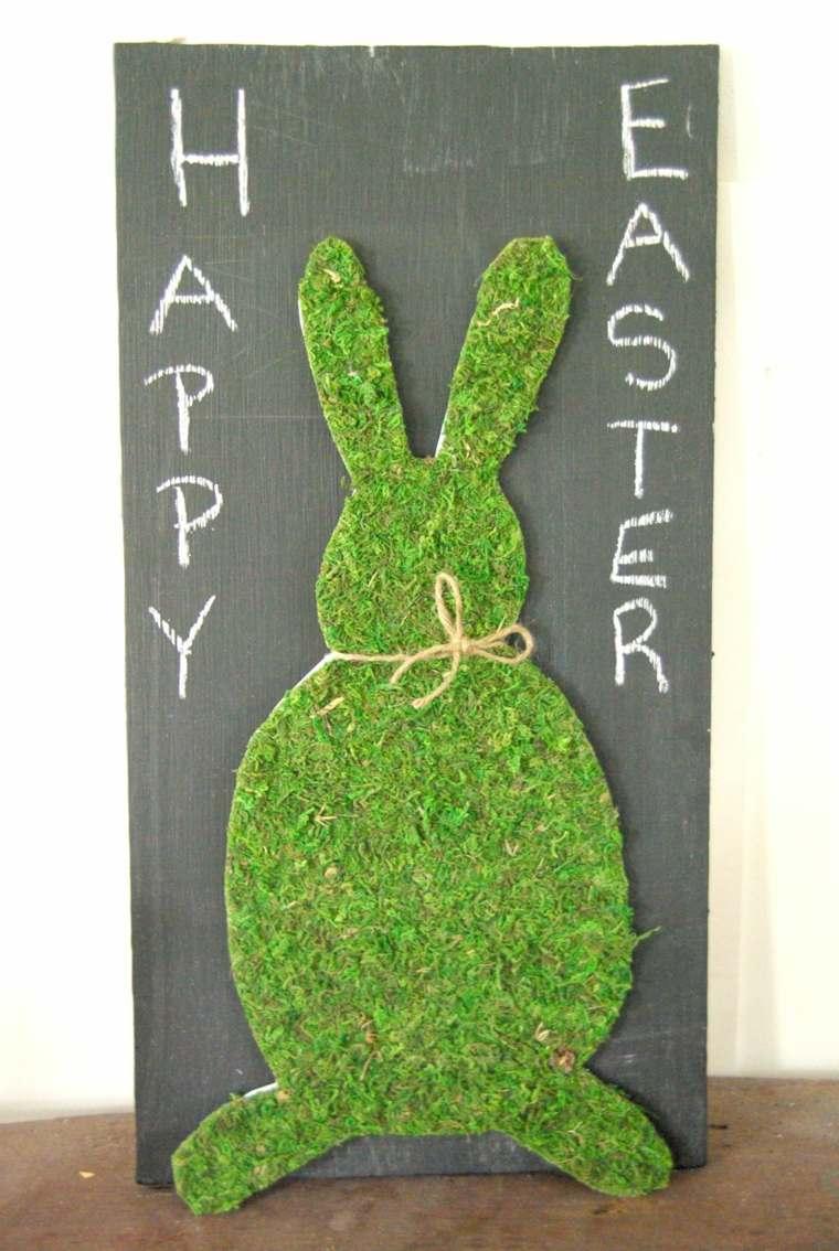 bricolage Pâques panneau decoratif