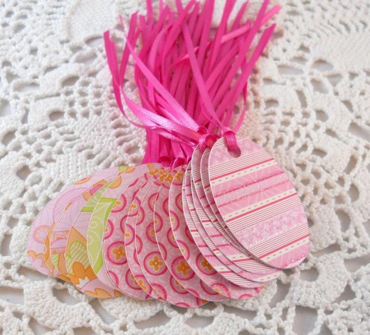 bricolage Pâques papier colore