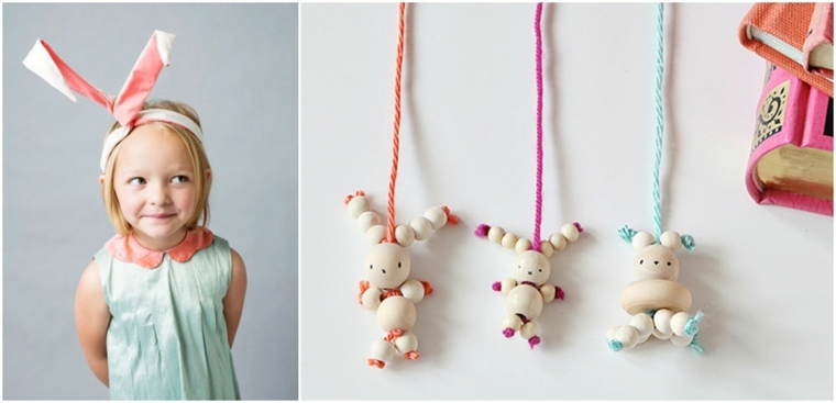 enfant bricolage paques perles