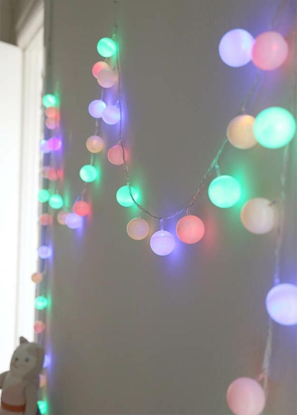 déco diy lanterne lumineuse balles ping pong