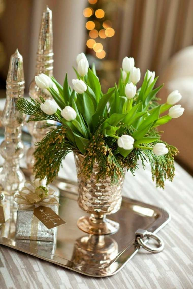 paques deco vase fleurs