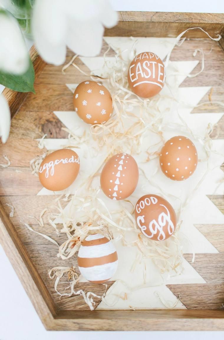 oeufs décoration de Pâques