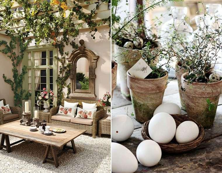 table décoration de Pâques