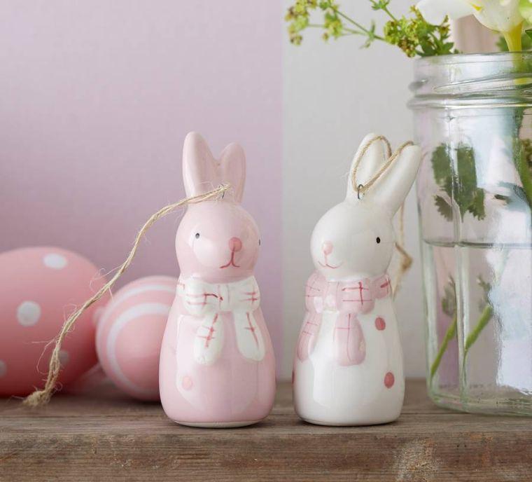 decoration paque lapins