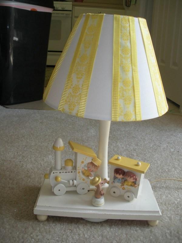 decoration originale chambre enfant lampe DIY