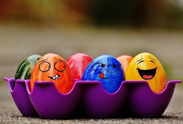 œufs de Pâques coloriage