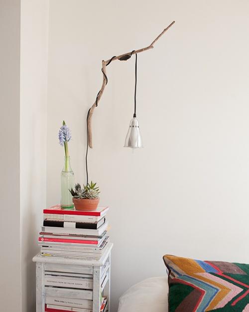 idées-de-déco-lampe-bois-DIY-murale