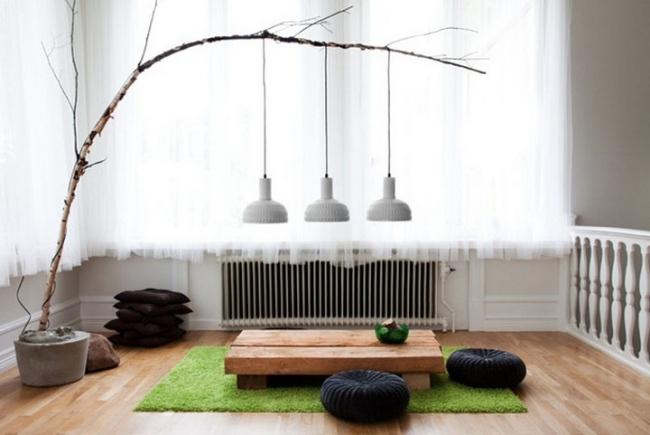 idées-de-déco-lampe-poser-DIY-bois-salon-luminaire