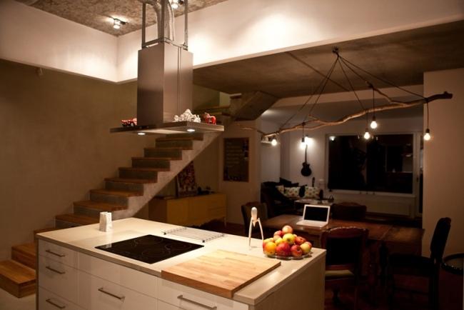 idées-de-déco-lampe-supension-DIY-boiss-cuisine