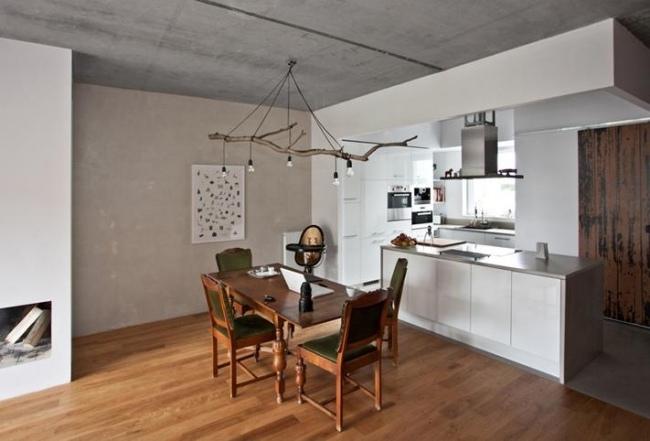 idées-de-déco-lampe-supension-DIY-cuisine-bois