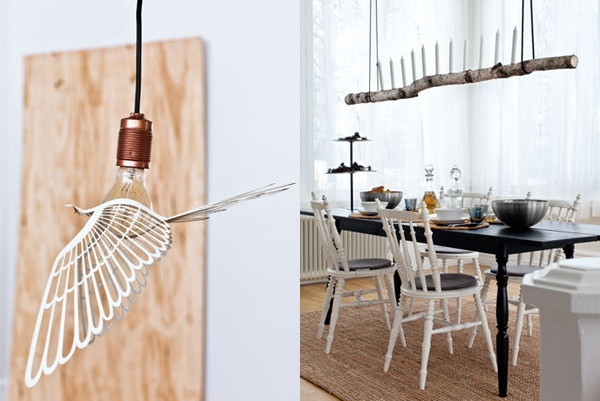 idées-de-déco-lampe-supension-DIY-métal-bois