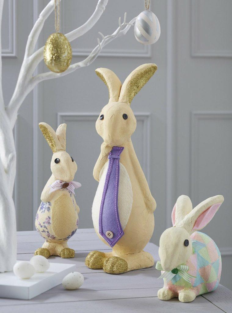 idees lapin décoration de Pâques