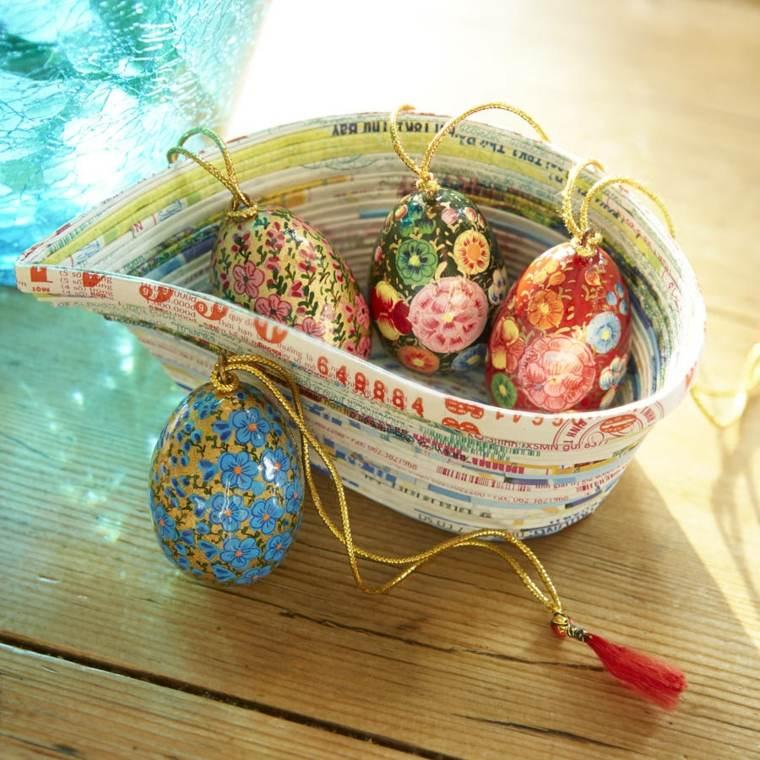 idee oeufs décoration de Pâques