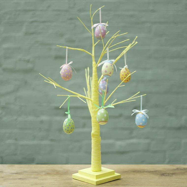arbre oeufs decoration paques