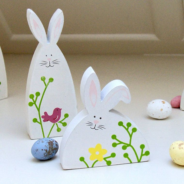 lapin paques decoration idees