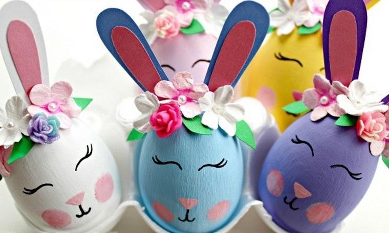 œufs lapin diy coloriage Pâques